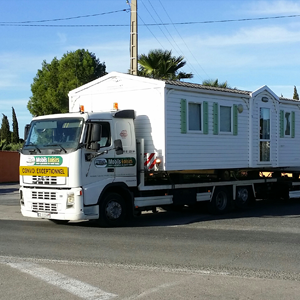 Transport de mobil home