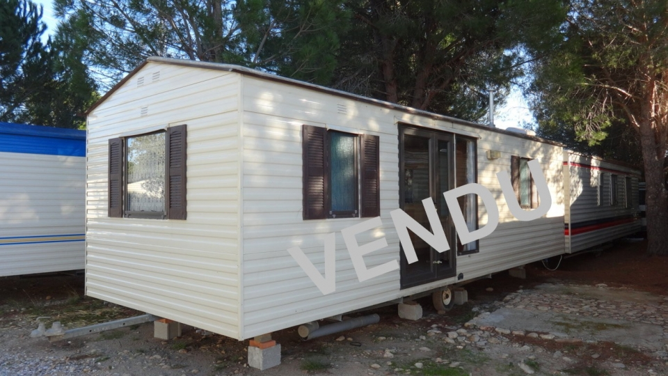 Mobil home occasion COTTAGE BLUE Willerby - Réf : MOB71 0